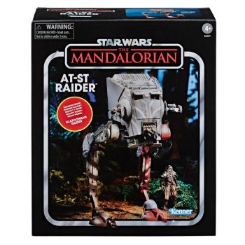 Star Wars The Vintage Collection Vehicle The Mandalorian - AT-ST Raider Pre-Order